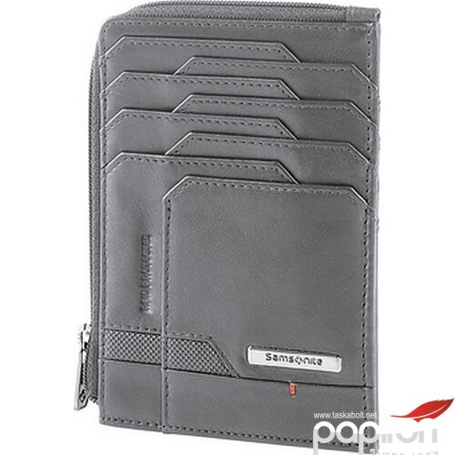 Samsonite pénztárca férfi PRO-DLX 5 Slg 727-All In One Wallet Zip 120640/0555-Grey