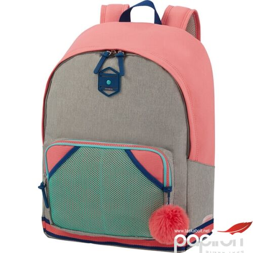 Samsonite hátitáska Sam school spirit backpack L 123781/1149 bubble gum pink