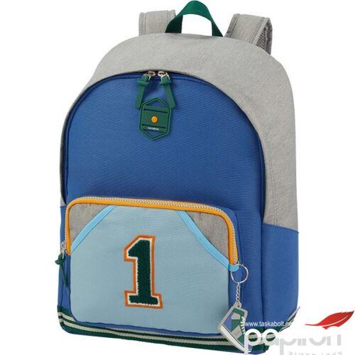 Samsonite hátitáska Sam school spirit backpack L 123781/8086 n.1 varsity grey