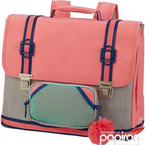 Samsonite iskolatáska Sam school spirit schoolbag M 123779/1149 bubble gum pink