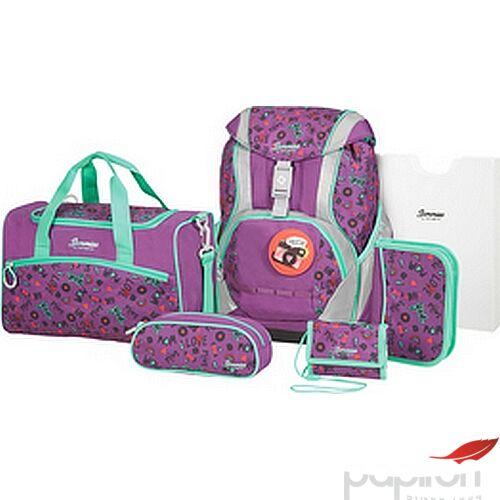 Samsonite iskolatáska szett Sammies Ergofit Set 2.0 Doodle Purple 111539/7426-Doodle Purple