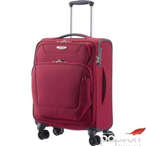 Samsonite kabinbőrönd 55/20 Spark 4kerekű textilbőrönd 87552/1090 kék