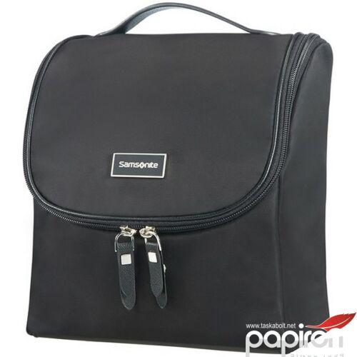 Samsonite kozmetikai táska Női Karissa 21x23x10 85249/1041 fekete akasztható