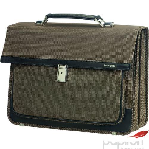 Samsonite laptoptáska Fairbrook 42x34,5x17,5 1,7kg 14,5L 85431/1964 bronz/fekete irattáska
