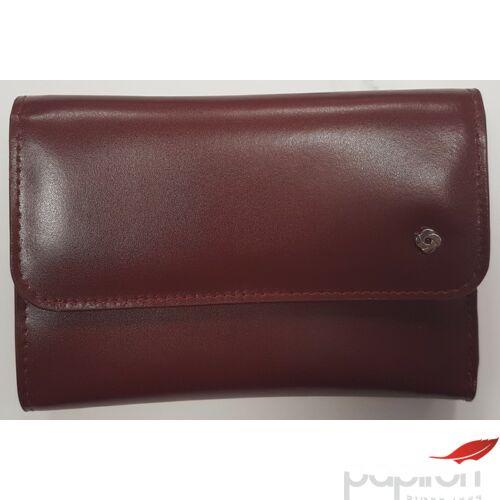 Samsonite Női bőrpénztárca LADY GLAZE SLG, L WALLET 12CC+ZIP EXT M