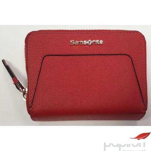 Samsonite pénztárca Női Lady Saffiano II SLG 10,5x7,7x2 80152/1194 - Cherry Red - Meggy piros