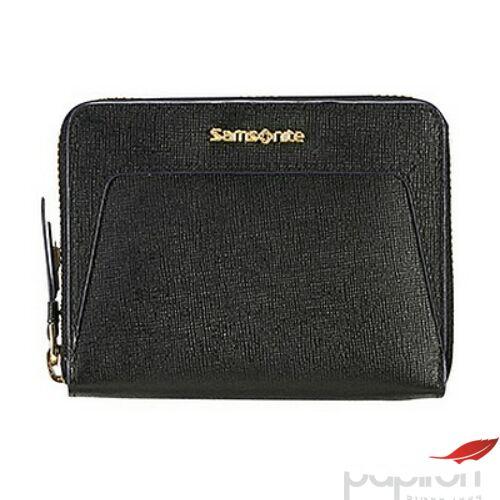 Samsonite pénztárca Női Lady Saffiano II SLG 12x8,5x2 74992/1041 fekete