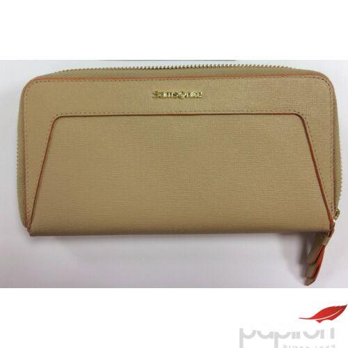 Samsonite Női bőrpénztárca LADY SAFFIANO II SLG, 18, 5x10x2