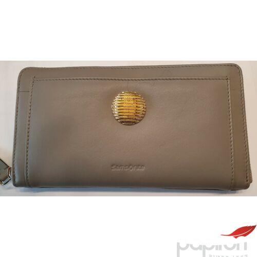 Samsonite pénztárca Női LEATHIZIA SLG/319 - L ZIP AROUND L 109406/1853 Taupe - Kő színű