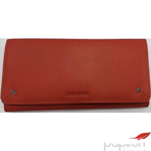 Samsonite Női bőrpénztárca MOVE LTH SLG L W L 18CC+ZIP EXT