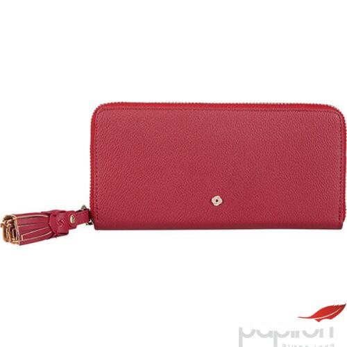 Samsonite pénztárca Női Pillar SLG/319 - L ZIP AROUND L 109411/1267 - Dark Red, Sötét piros