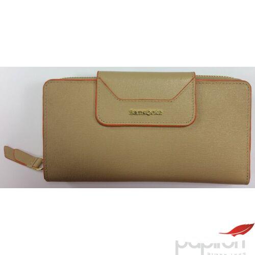 Samsonite pénztárca Női Lady Saffiano II SLG 18,6x9,5x3 WAL L 18CC+ZIP EX