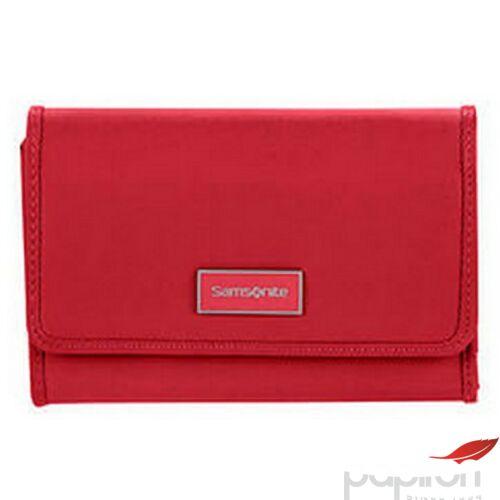 Samsonite pénztárca Női Karissa SLG l w 12cc+zip ext M 120373/0507 formula piros