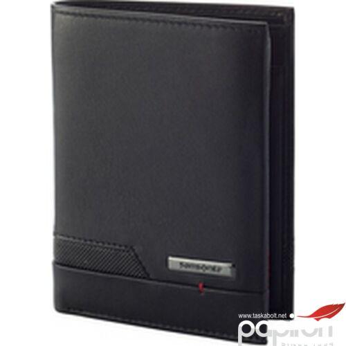 Samsonite pénztárca PRO-DLX 5 SLG 137 - W 6CC+HFL+2W+2C 127059/1041 Black - Fekete