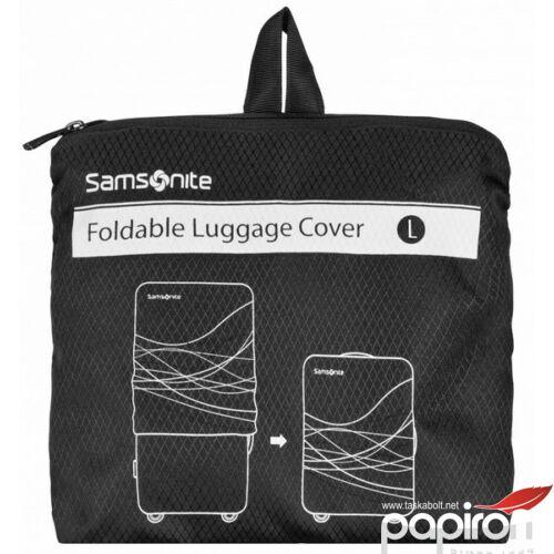 Samsonite bőröndhuzat M V. FOLDABLE Luggage COVER 63221/1041 fekete